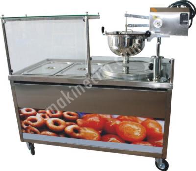 Saray Ve İzmir Lokma Tatlı Dökme Makinesi