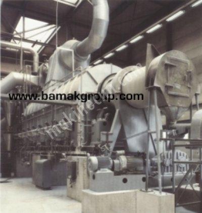 Kömür Kurutma Ve Karıştırma Makinası