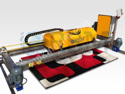 Otomatik Raylı Halı Yıkama Makinası
