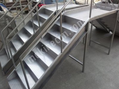 Paslanmaz Platform Merdiven Dp Pm 2012