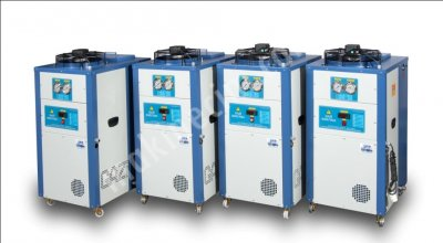 Satılık Sıfır 2.500 kCal/h kapasiteli Mini Chiller -Su Soğutma Grubu Fiyatları İstanbul mini chiller,chiller,su soğutma kulesi,yağ soğutma eşanjörü,soğutma,su soğutma grubu,su soğutucu,plastik enjeksiyon makinası,cnc soğutucu