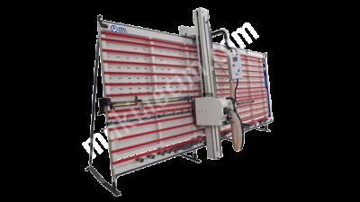 Dikey Kompozit Panel Kesim Ve Derz Açma Makinası