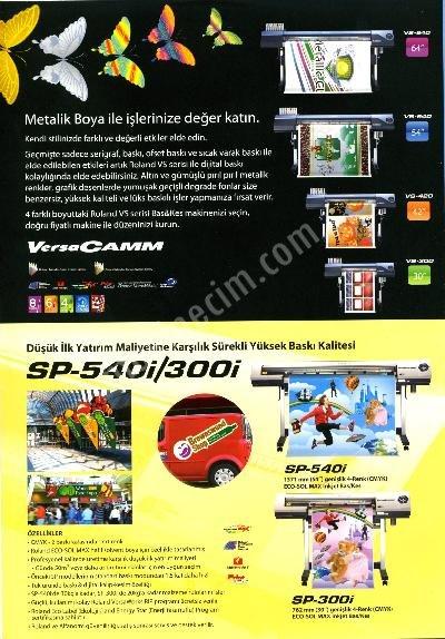 Roland Baskes Sp540İ Sp 540 İ Tüm Roland Modelleri Bask..