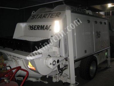 Sahibinden Satılık Sermac Scl 100 Stationaty Concrete Sabit Beton Pompası
