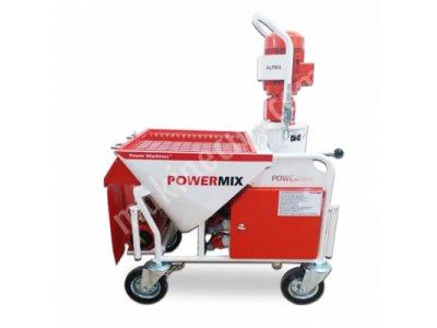 Satılık Sıfır Satılık Powermix Alpha Sıva Makinesi Fiyatları Trabzon power machines,powermix digital,alçı sıva makinası,hazır sıva karıştırma ve püskürtme pompası,alçı makinası,powermix plus plaster spraying machine