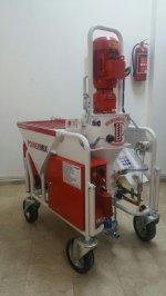 Satılık Powermix Alpha Sıva Makinesi
