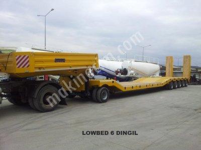 Satılık Sıfır 6 dingilli Jumbo Lowbed Fiyatları İstanbul 6 dingilli Jumbo Lowbed, lowbed dorse, 5 dingilli lowbed, 4 dingilli lowbed