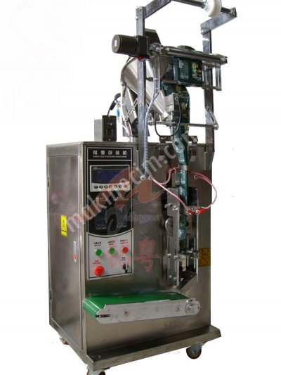 Renas Makina Tam Otomatik Vidalı Dört Köşe Kapatmalı Toz Kil Paketleme Makinası