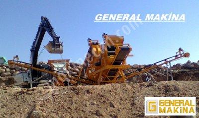 Satılık Kırma Eleme Tesisi   General Makina   05324650739 Ağrı
