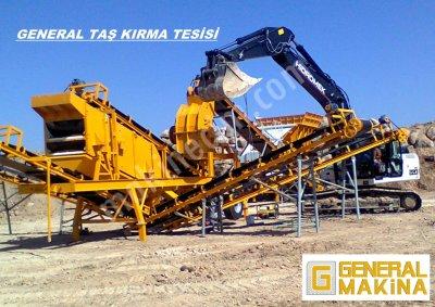 Uygun Fiyatta Satılık Kırma Eleme Tesisi   General Makina   05324650739 Bitlis