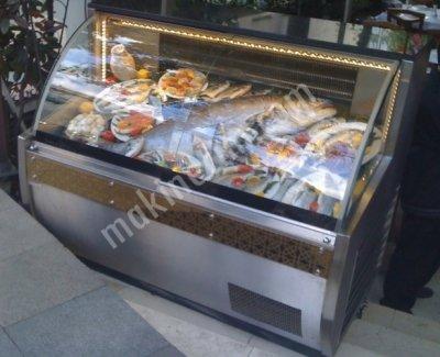 Oem-07 Restaurant Tip Balık Teşhir Dolabı