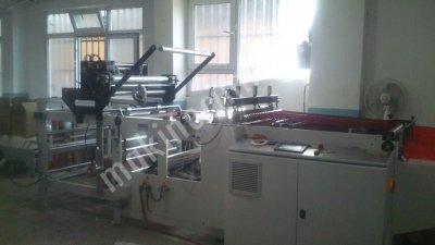 Torba Kesim Makinası Üzerinde Flekso Matbaa