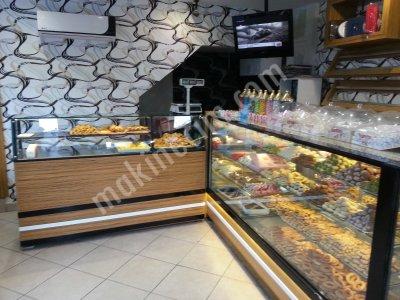 Satılık Sıfır Kuruyemiş , Pastane Dolabı Fiyatları Ankara kuruyemiş dolabı pastane dolabı