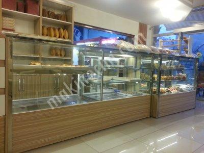 Satılık Sıfır Özel Üretim  kuruyemiş dolabmız Fiyatları Ankara pastane dolabı, krom tezgah, kuruyemiş dolabı
