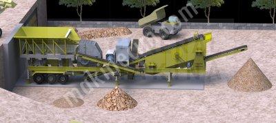 Satılık Mobil Maden Kırma Eleme Tesisi General Makina