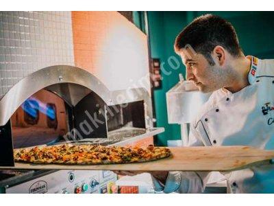 Rotary Pide Pizza Fırını - Alttan Ve İçten Isıtmalı Döner Taş Tabanlı Pide Pizza Fırını