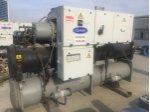 610 kW carrier su soğutmalı chiller grubu