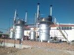 Piroliz ( Geri Dönüşüm ) Tesisi  Dikey Reaktörlü