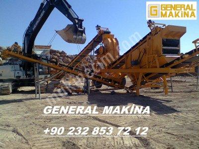 Satılık Maden Kırma Eleme Tesisi   General Makina 0532 465 07 39