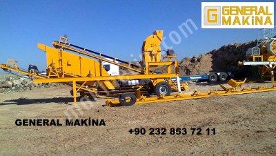 Kum Yıkama Eleme Tesisleri-General Makina 05324650739