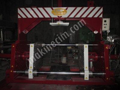 Hydraulic Press ..satılık   Kokil Presleme   45 Derece  Devirme Kapasitesine Sahipbir Makinadır