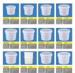 Plastik Boya Yoğurt Vb Kova Kalıpları
