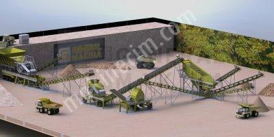 Satılık Taş Maden Kırma Eleme Ve Yıkama Tesisleri General Makina