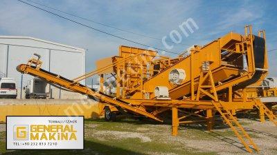 Seyyar Eleme Maden Kırma Tesisleri General Makina 0532 465 0739