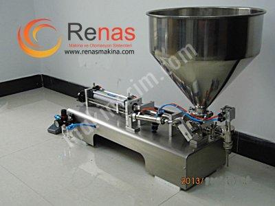 Renas Makina Yarı Otomatik Salça Dolum Makinası