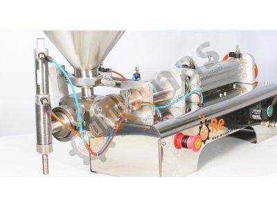 Satılık Sıfır Renas Makina Yarı Otomatik Salça Dolum Makinası Fiyatları İstanbul dolum makinası,dolum makinaları,sıvı dolum makinası,dolum makineleri,