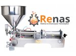 Renas Makina Semi Automatic Hair Gel Filling Machine