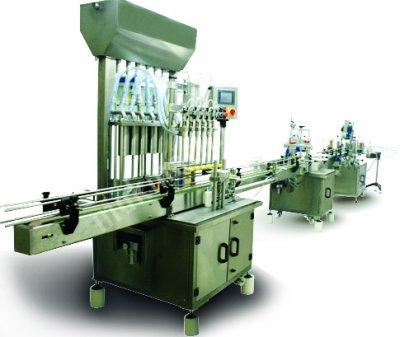 Sıvı Dolum Makinası 8 Li Servolu