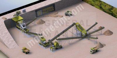 Kum Eleme Yıkama Tesisleri,çelik,döküm-General Makina