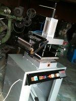 Sipariş Olarak.sıcak Klişe Baskı Makinası Ve  Otomatik Sargılı  Varak Yaldız Makinası  35X30   Cmlik