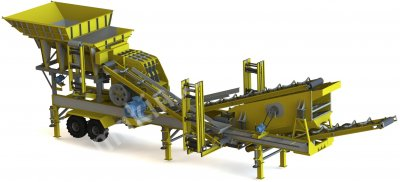Maden Makinaları Konkasör Tesisi General Makina