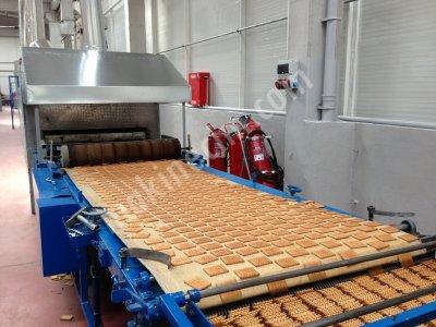 Satılık İkinci El Bisküvi Üretim Hattı Komple Tesis Fiyatları Karaman bisküvi üretim hattı