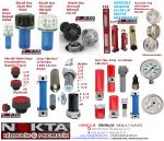 Hidrolik Depo Kapakları, Hidrolik Filtreler, Hidrolik Basınç Göstergeler