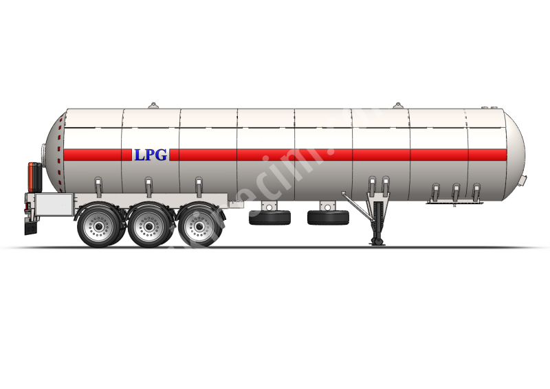 Storage plant tanks on trailers and semi-trailers