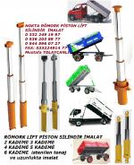 Kademeli Römork Pistonu İmalat, Kademeli Römork Silindiri İmalat, Hidrolik Malzeme İmalat