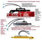 Uzel Hidrolik Yan Kol, Uzel Hidrolik Orta Kol Satış, Uzel Traktör Hidrolik Yan Kol,