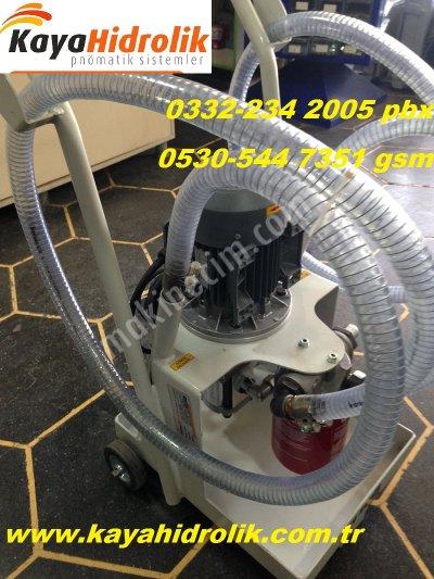 Satılık Sıfır fabrika makinalarının yağ filtreleme ünitesi-yağ aktarım ünitesi Fiyatları Konya fabrika makinalarının yag filitreme ünütesi