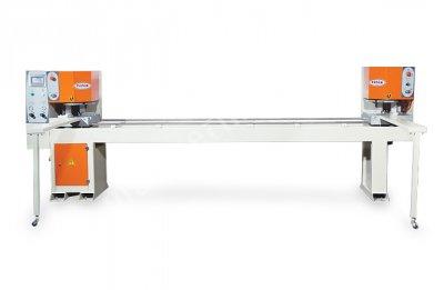Pvc Çift Kafa Kaynak Makinası Özgenç Koparmalı Kıl Kaynak