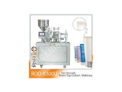 Satılık Sıfır Renas Makina ROD-K300 Otomatik  Tüp dolum ve Kapatma Makinası Fiyatları İstanbul paketleme makinası,ambalaj paketleme,tüp krem dolum,krem dolum makinası,krem dolum,sıvı dolum,renas makina