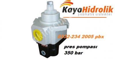 Satılık Sıfır hidrolik pres pompası 350 bar Fiyatları Konya hidrolik pres pompası