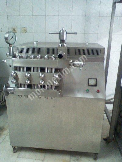 Satılık Krom Süt Yoğurt Ayran Makineleri Mandıra Malzemeleri