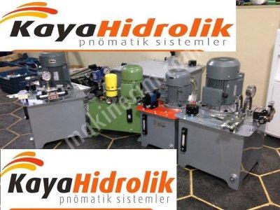 Hidrolik Ünite Hidrolik Sistem