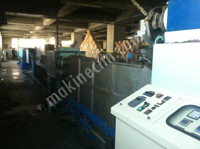 Satılık 2. El SATILIK II EL P.P PLASTİK ÇEMBER ÜRETİM HATTI Fiyatları İstanbul polioroblen plastik çember makinesi,pp üretim hattı