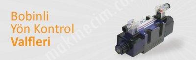 Satılık Sıfır Bobinli Kontrol Valfleri Fiyatları Denizli kontrol valfleri,hidrolik valf,çift bobin valf,aron valf