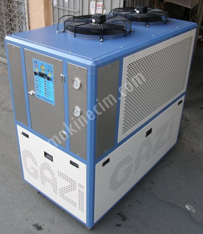 For Sale New Air Cooled Chiller 34 Kw Cooling Capacity chiller,air cooled chiller,water cooling,chiller for lazer,chiller for cooling injection mold