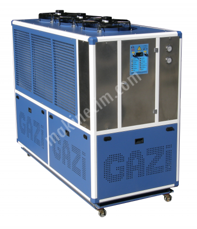 Satılık Sıfır DELTA-025 60.000 kcal/h - Gazi Chiller Fiyatları İstanbul chiller,su soğutma,hava soğutmalı chiller,pres soğutma,hidrolik soğutma,enjeksiyon soğutma,kalıp soğutma,thermoform soğutma,plastik makinası soğutma,plastik enjeksiyon makinası soğutma,kaplama banyosu